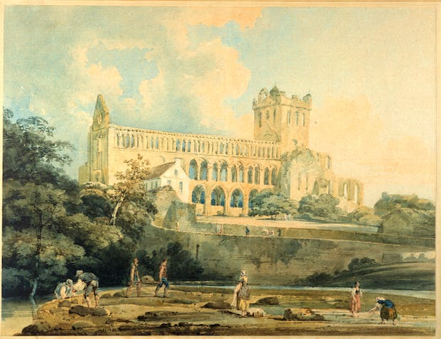 Jedburgh from the River, (1798-99), Thomas Girtin. Courtesy of the National Trust