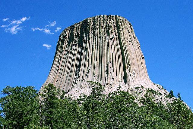 Devil's Tower, Wyoming. Photo: Wikimedia Commons