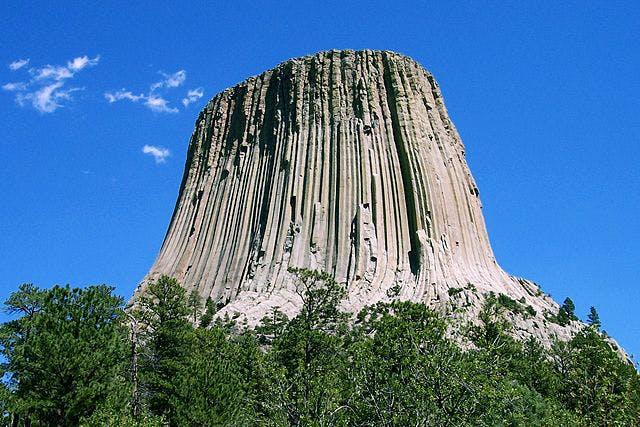 Devil's Tower, Wyoming. Photo: Wikimedia Commons