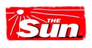 David Hockney's redesign of the Sun's masthead