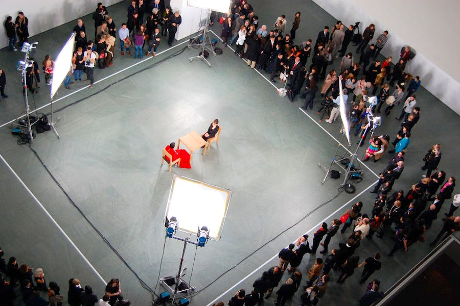 Inside the mind of marina abramovi apollo magazine a marina abramovi performance during marina abramovi the artist is present at moma thecheapjerseys Image collections