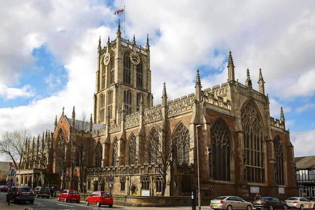 Holy Trinity Church, Kingston upon Hull in 2015. Photo: Andrew Paterson/Alamy Stock Photo