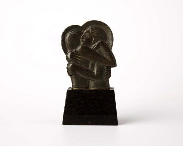 Icon (for Divine Lovers) (1923), Eric Gill. Courtesy of the Ditchling Museum of Art + Craft