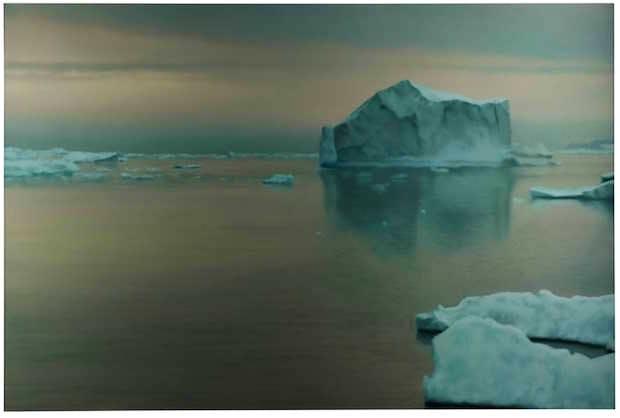 Eisberg (1982), Gerhard Richter. Courtesy Sotheby's (£8m–£12m)