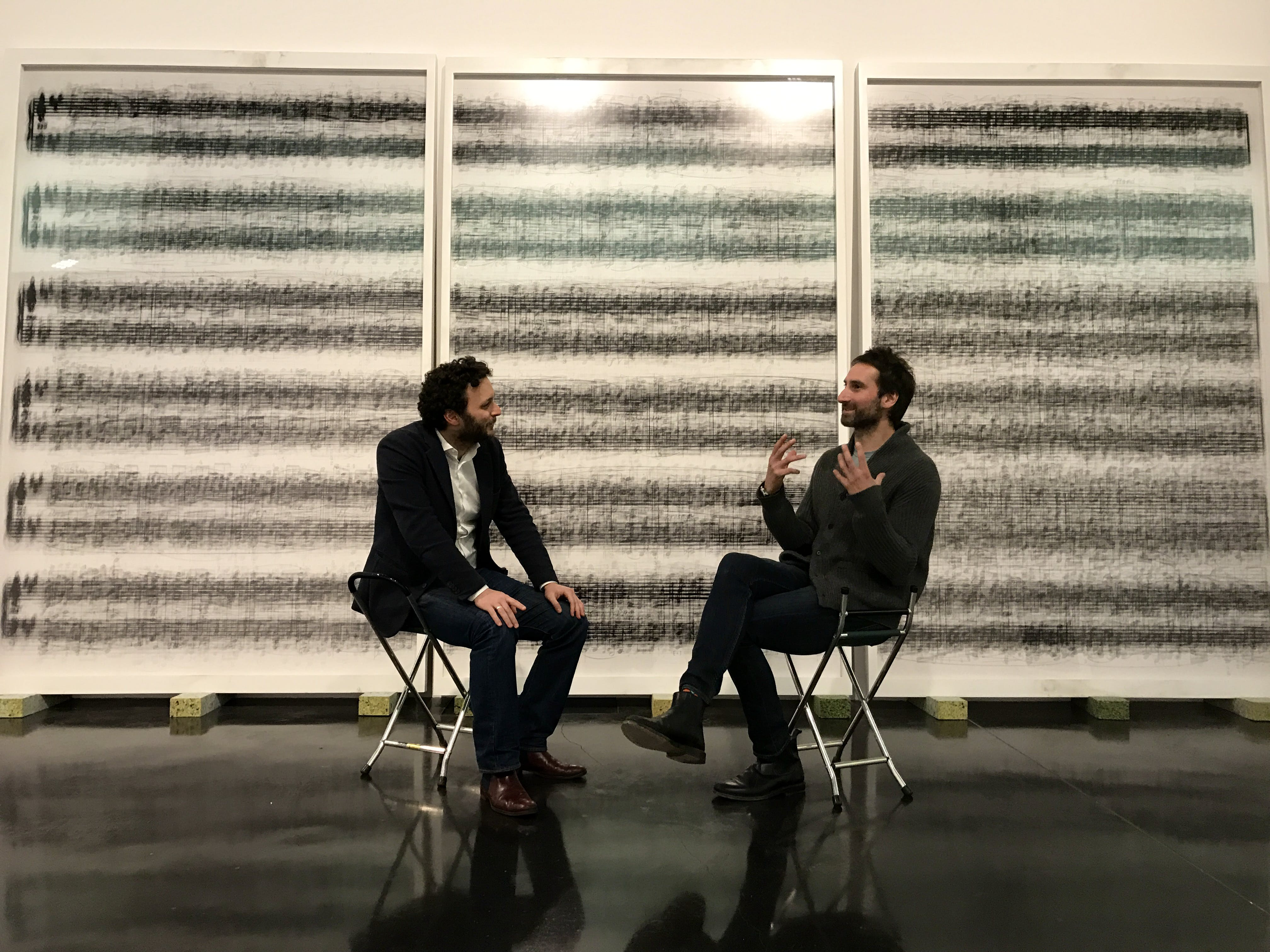 Thomas Marks in conversation with Idris Khan at the New Art Gallery, Walsall