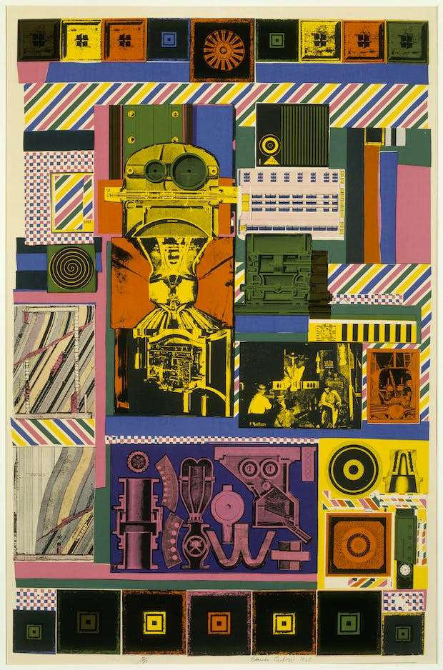 Conjectures to Identity (1963–64), Eduardo Paolozzi. © Trustees of the Paolozzi Foundation, licensed by DACS