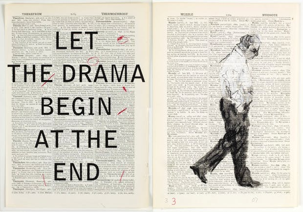 Second Hand Reading (film still) (2013), William Kentridge. Courtesy William Kentridge, Marian Goodman Gallery, Goodman Gallery and Lia Rumma Gallery