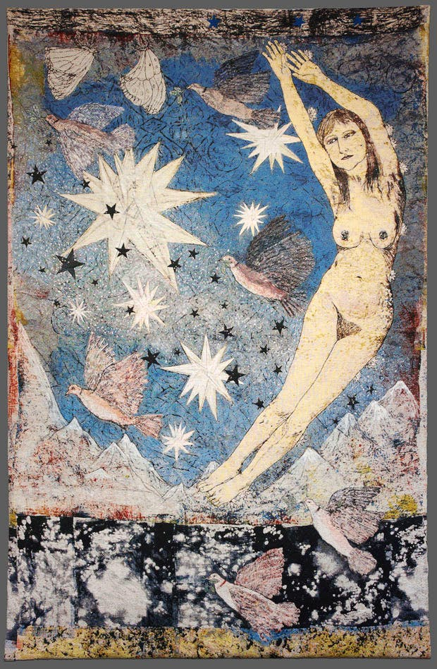 Sky, (2012), Kiki Smith. Courtesy Timothy Taylor Gallery, London