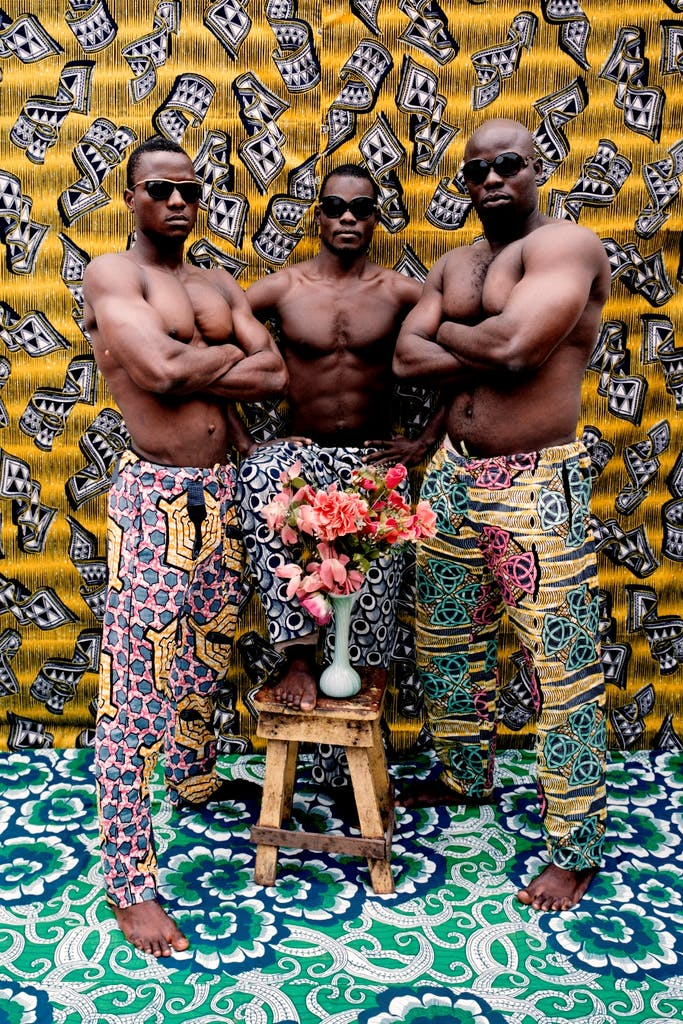 Untitled, (2012), from the Musclemen series, Leonce Raphael.