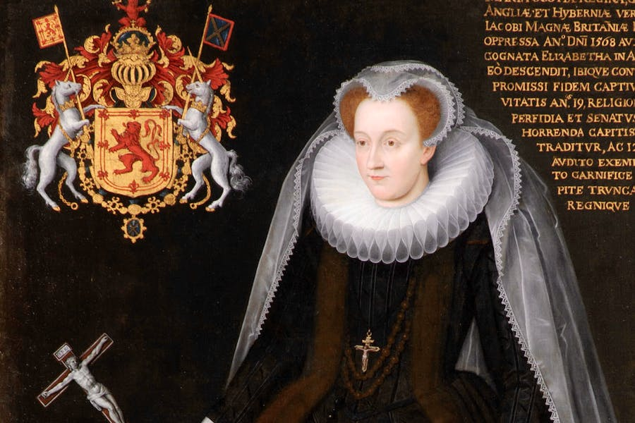 The Blairs Memorial Portrait of Mary, Queen of Scots (early 17th century), Flemish, unknown artist. Blairs Museum, Aberdeen