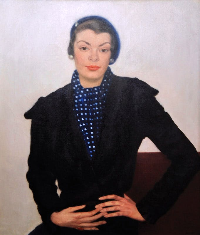 Portrait of Miss Watts, 1932. Private collection