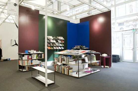 Section 7 books at FIAC art fair, 2009. Photo: Aurélien Mole