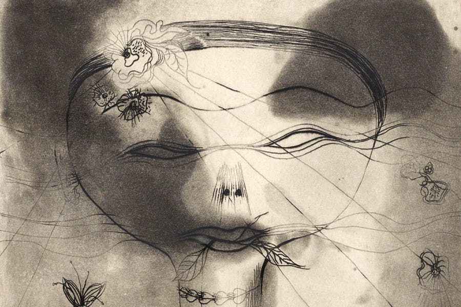 Head with Insect (detail; 1935), Catherine Yarrow. Scottish National Gallery of Modern Art © Catherine Yarrow Estate