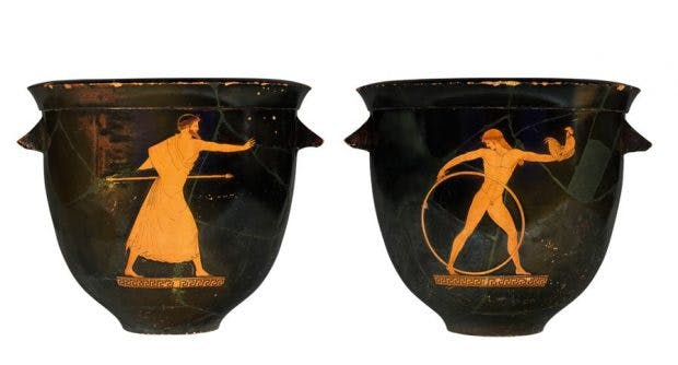 Striking Attitudes On The Sides Of Ancient Greek Vases Apollo Magazine
