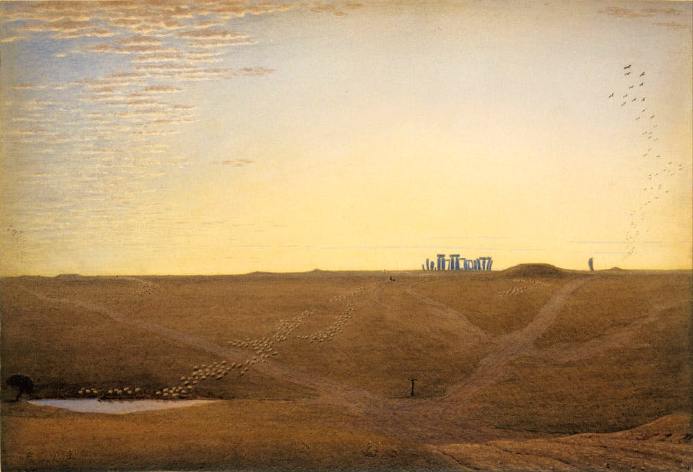 Stonehenge - Twilight (c. 1840), William Turner of Oxford. Photo: Wikimedia Commons