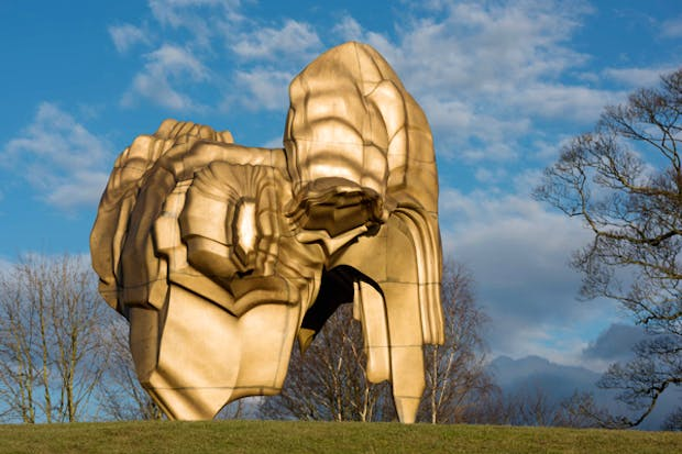 Caldera (2008), Tony Cragg. Courtesy of YSP. Photo © Jonty Wilde