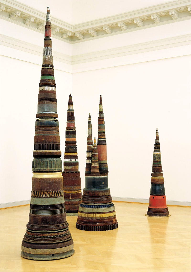 Minster (1990), Tony Cragg. Courtesy the artist and YSP