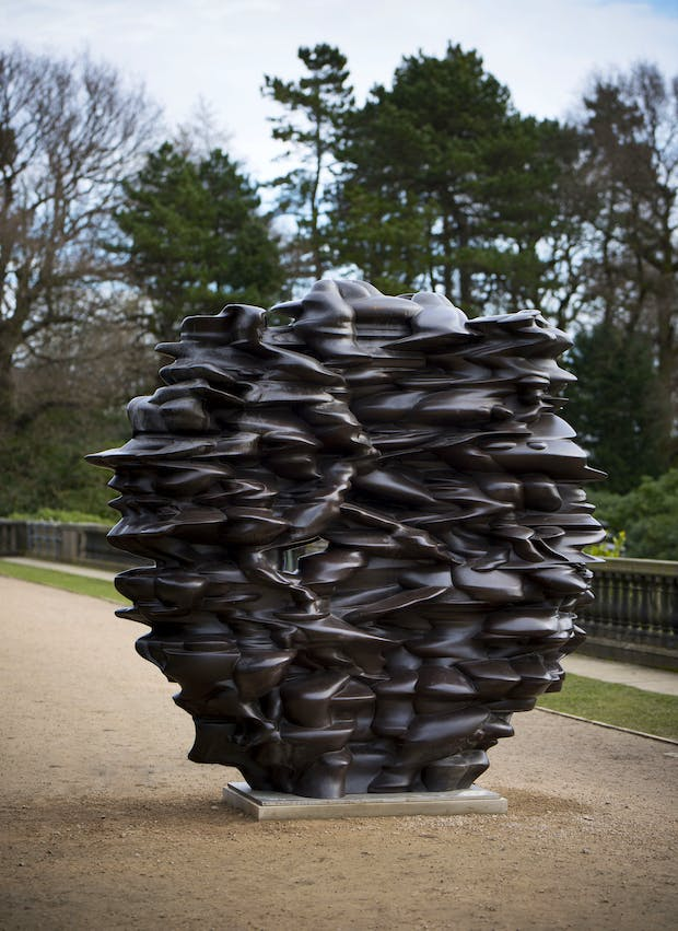 Versus (2011), Tony Cragg. Courtesy the artist and YSP. Photo © Jonty Wilde