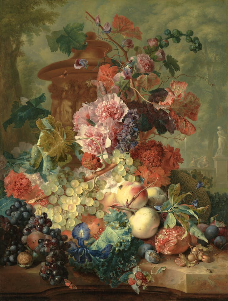 Fruit Piece (1722), Jan van Huysum