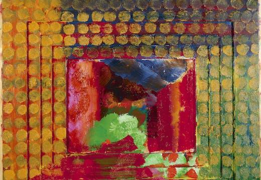 Portrait of the Artist (1984–87), Howard Hodgkin. © Howard Hodgkin