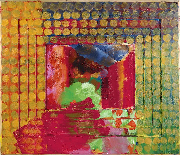 Portrait of the Artist (1984–87), Howard Hodgkin. © Howard Hodgkin