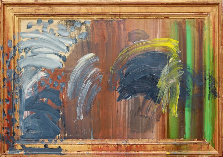 Portrait of the Artist Listening to Music (2011–16), Howard Hodgkin. Courtesy Gagosian © Howard Hodgkin