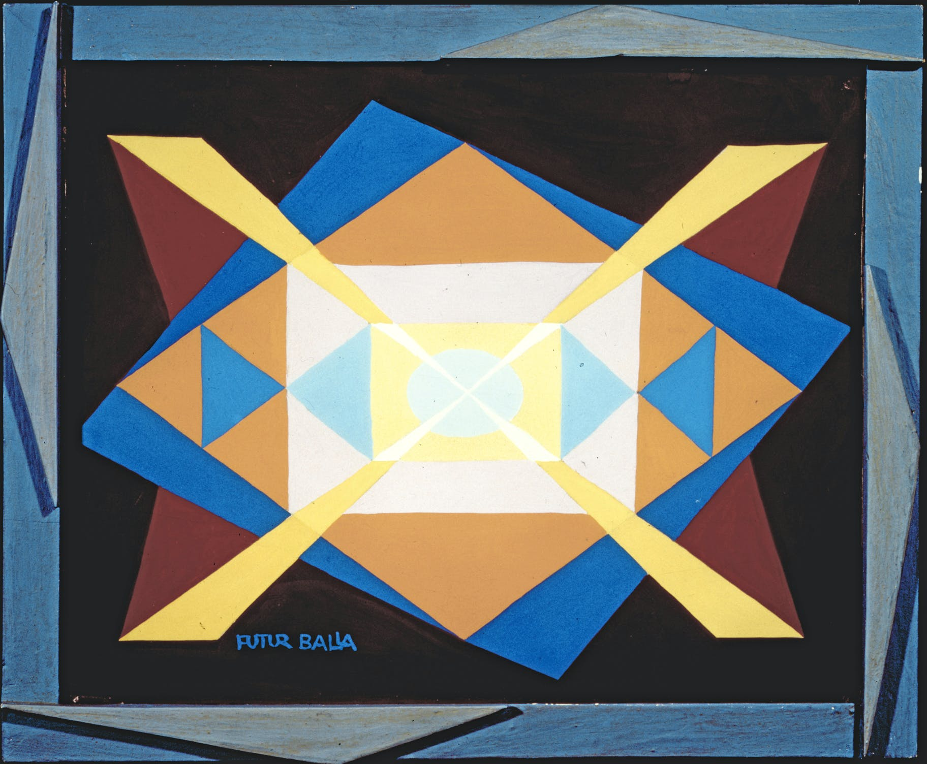 Expansion+Light (1930), Giacomo Balla. Courtesy The Biagiotti Cigna Collection