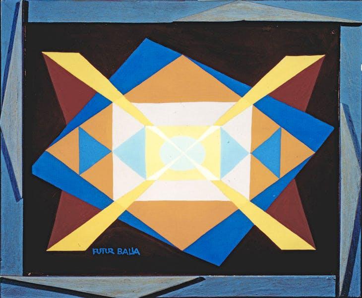 Expansion+Light (1930), Giacomo Balla. Courtesy The Biagiotti Cigna Collection
