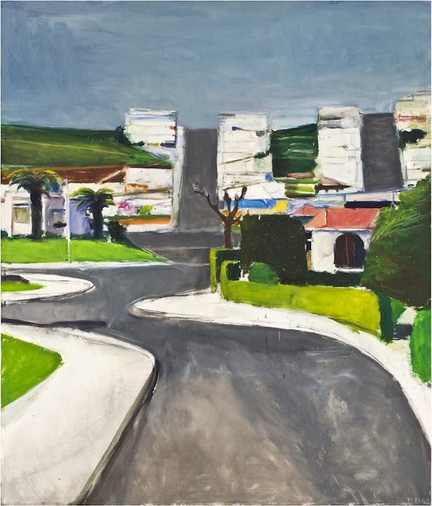 Ingleside (1963), Richard Diebenkorn. © the Richard Diebenkorn Foundation