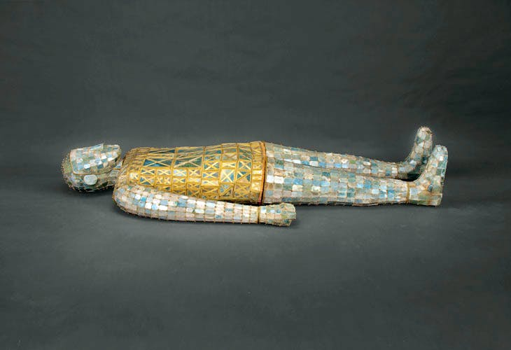 Burial Suit of Dou Wan from the western Han dynasty (206 BC – 9 AD), excavated in 1968. Photo: Courtesy Hebei Provincial Museum, Shijiazhuang