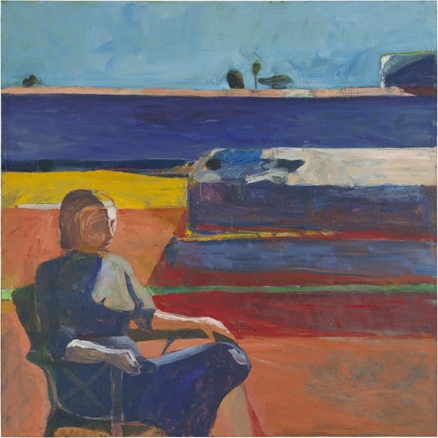 Woman on a Porch (1958), Richard Diebenkorn. © the Richard Diebenkorn Foundation