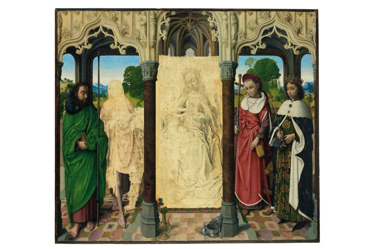 Virgin and Child with Saints (c. 1472), attributed to Hugo van der Goes