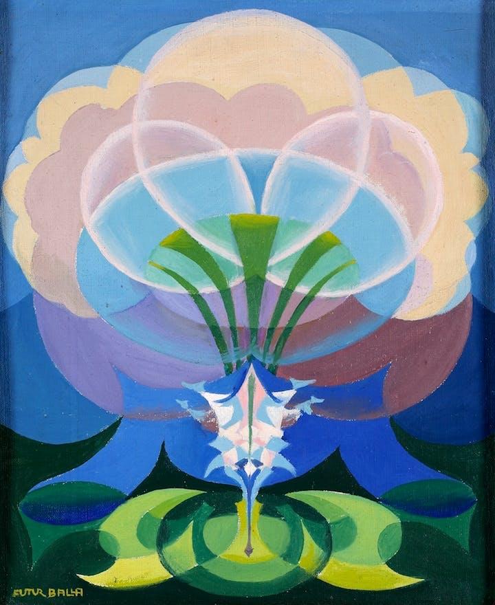 Expansion of Spring (1918), Giacomo Balla. Courtesy The Biagiotti Cigna Collection