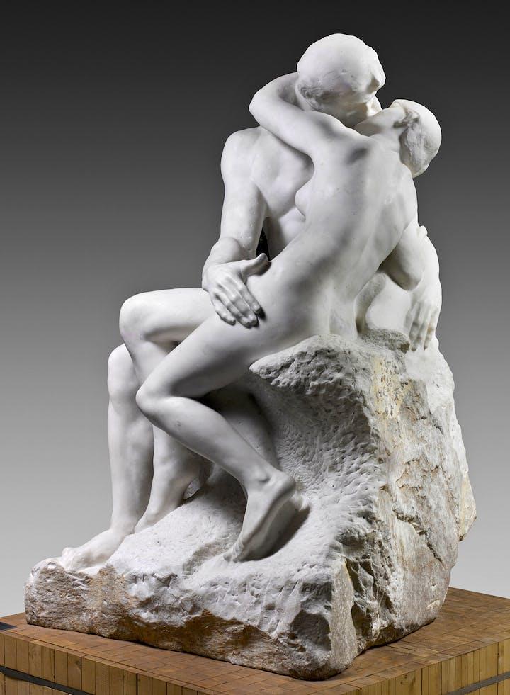 Le Baiser (1881–82), Auguste Rodin. © Musée Rodin, Photo: Hervé Lewandowski