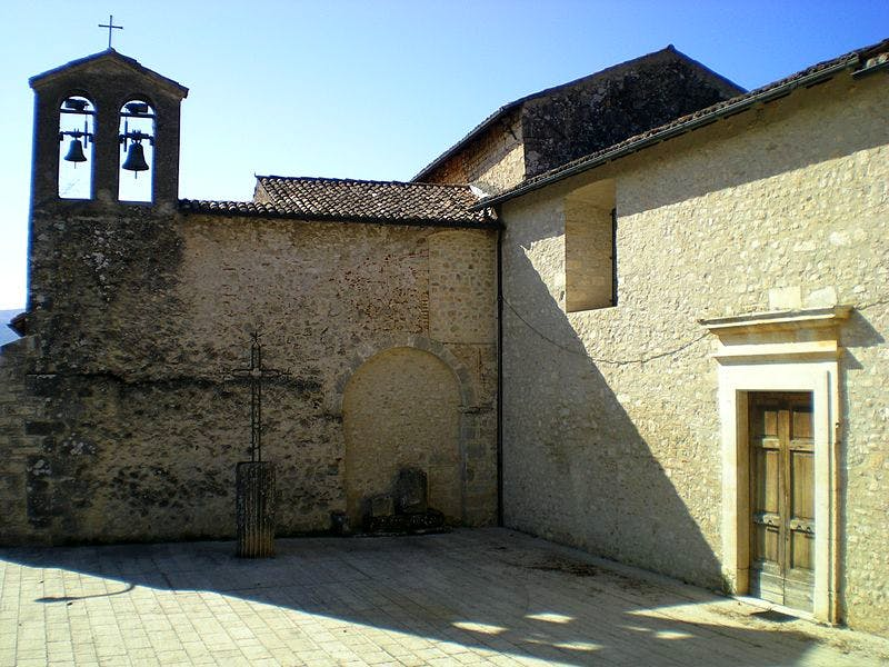 Previously hidden spaces in the 17th-century convent of San Michele Arcangelo were rediscovered during conservation work after the earthquake.