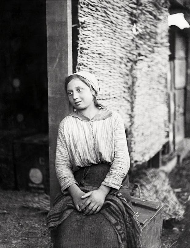 A Young Italian Woman Employed by the British Army in Italy (November 1918), 9. William Joseph Brunell. Courtesy: Imperial War Museum