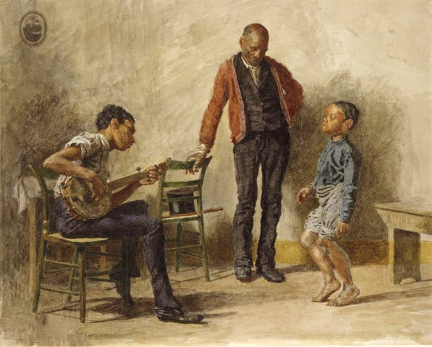 The Dancing Lesson (Negro Boy Dancing) (1878), Thomas Eakins. Metropolitan Museum of Art, New York