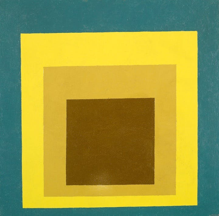 Study for Homage to the Square: Still Remembered (1956), Josef Albers. © The Josef and Annie Albers Albers Foundation/VG Bild-Kunst