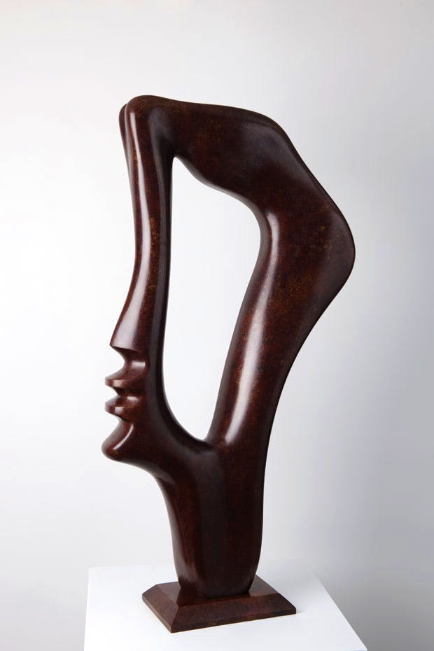 Profile (2004), Alfred Basbous. Courtesy the artist and Sophia Contemporary Gallery