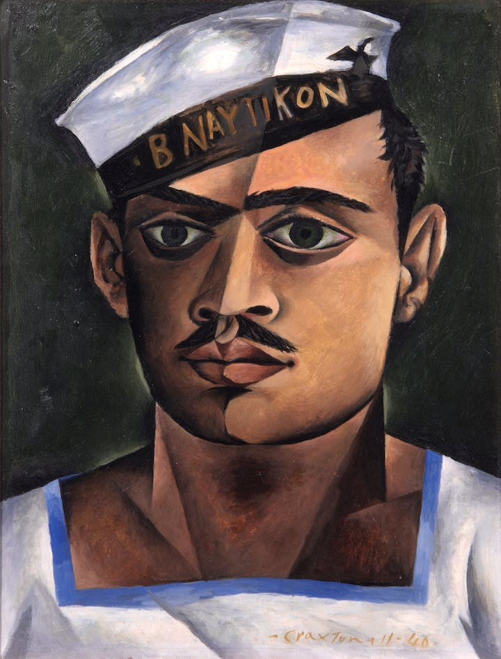 Head of a Greek Sailor (1940), John Craxton. © Estate of John Craxton. All rights reserved, DACS 2016. Photo credit: London Borough of Camden