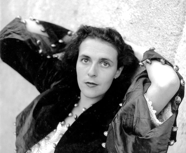 Leonora Carrington, photographed by Lee Miller in 1939. Image courtesy Lee Miller Archives, England 2016. All rights reserved. www.leemiller.co.uk