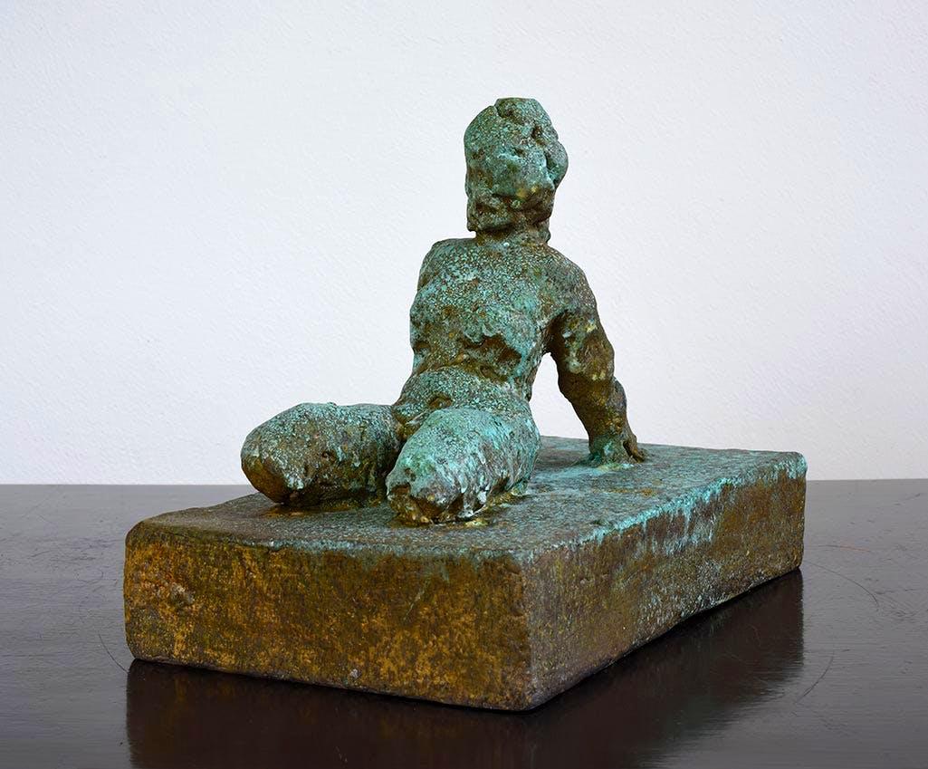 Bronze Edition, Frau IV (2014), Thomas Schütte. Konrad Fischer Galerie