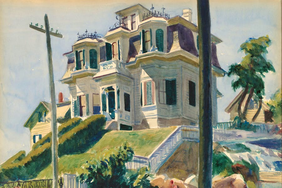Haskell's House (1924), Edward Hopper. National Gallery of Art, Gift of Herbert A. Goldstone, 1996.
