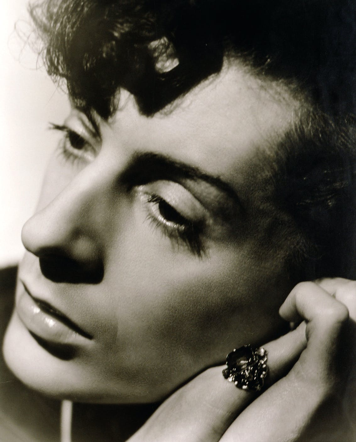 Quentin Crisp (1941), Angus McBean. © Estate of Angus McBean / National Portrait Gallery, London