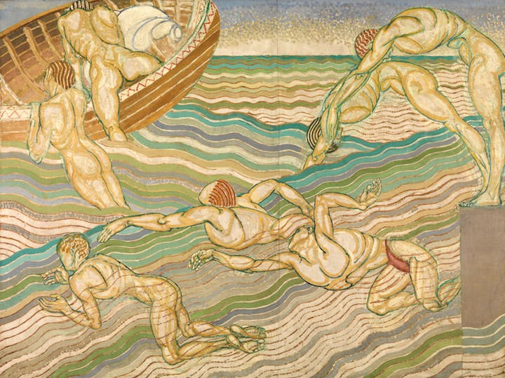 Bathing (1911), Duncan Grant. © Tate