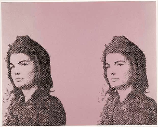 Jackie II (Jacqueline Kennedy II) (1965), Andy Warhol. © 2016 The Andy Warhol Foundation for the Visual Arts, Inc. / Artists Rights Society (ARS), New York and DACS, London