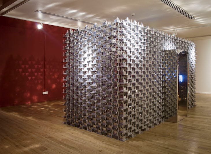 Taj Mahal (2008), Sudarshan Shetty, installation view at India Art Fair