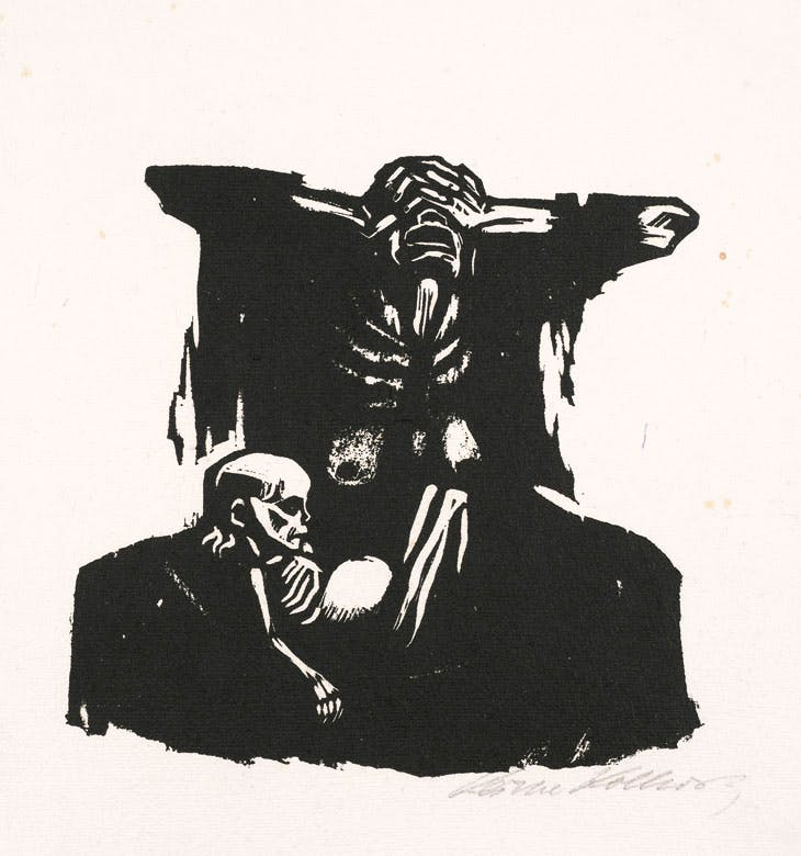 Hunger (1922–23), Käthe Kollwitz. Woodcut, one of at least 20 impressions in this form. Simon Theobald