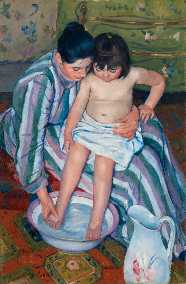 The Child's Bath (1893), Mary Cassatt. Art Institute of Chicago