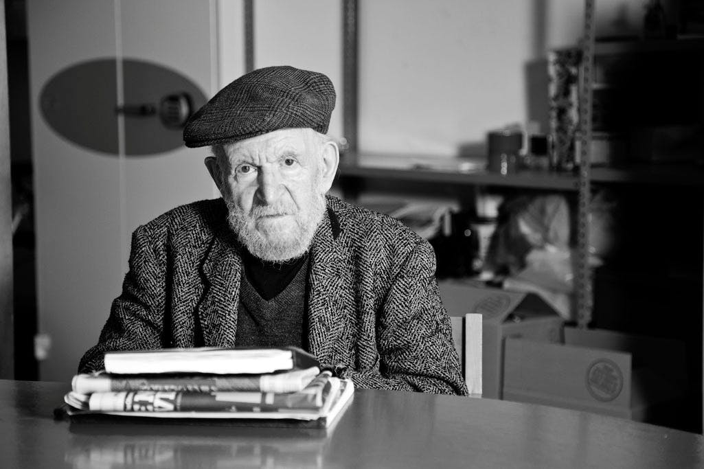 Gustav Metzger, the pioneer of auto-destructive art, has died in London aged 90. London Fieldworks (Jo Joelson and Bruce Gilchrist)
